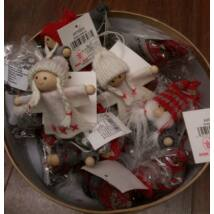 Karácsonyi dekoráció - természetes anyagokból