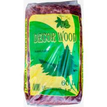 Decor wood mulcs - piros, 60L