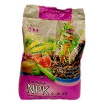 NPK műtrágya 0-10-24 10 kg