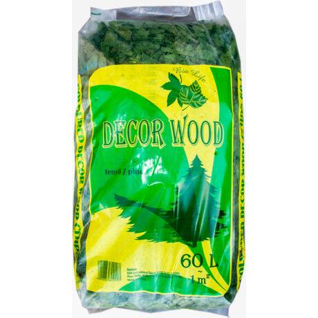 Decor Wood mulcs - zöld 60L
