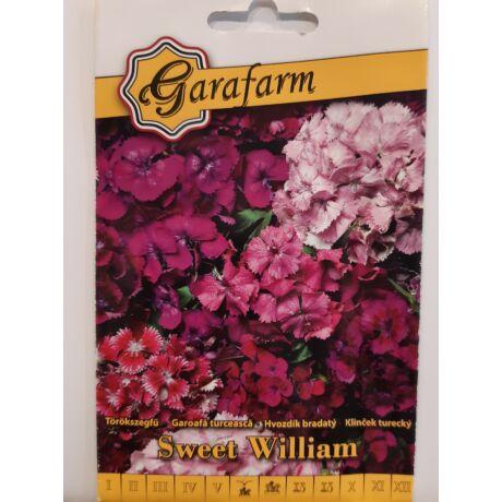 Dianthus barbatus / Törökszegfű magas teltvirágú színkeverék