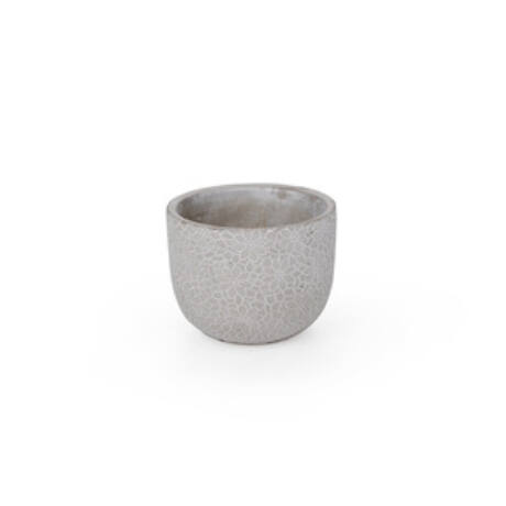 Saigon cement kaspó szürke 11x 9cm