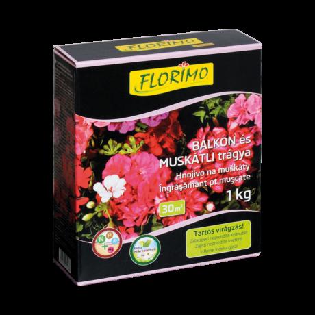 Florimo balkon és muskátli trágya (1 kg)