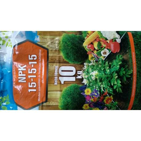 NPK műtrágya 15-15-15 10kg
