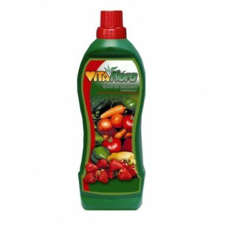 VitaFlóra eper, zöldségnövény tápoldat - 1000 ml